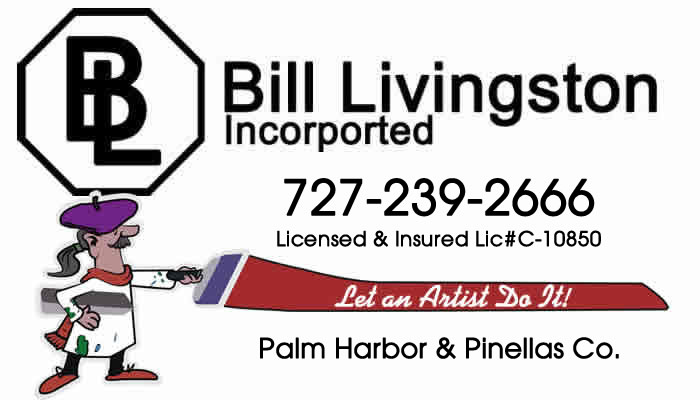 Bill Livingston Drywall Palm Harbor - Pinellas County